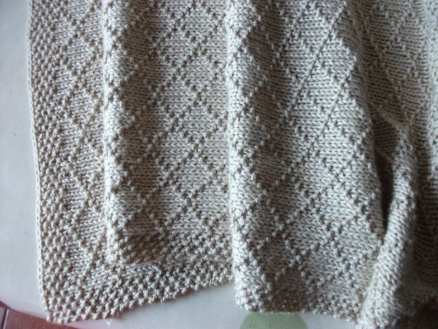 Ravelry: happyanddandy's Baby's Blanket pinned by Amy
