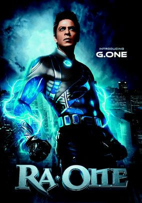 RA.One- Sci-fi: Dir.Anubhav Sinha ; Shahrukh Khan, Kareena Kapoor, Arjun Rampal - When the hit video game he created to impress his son becomes all too real, geeky computer programmer Shekhar must transform himself into G.One, a superhero with the technological know-how to save his family from the game's marauding villain, RA.One.