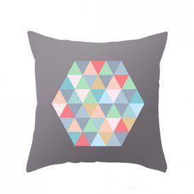 Geometric Cushion Cover - www.koop.co.nz