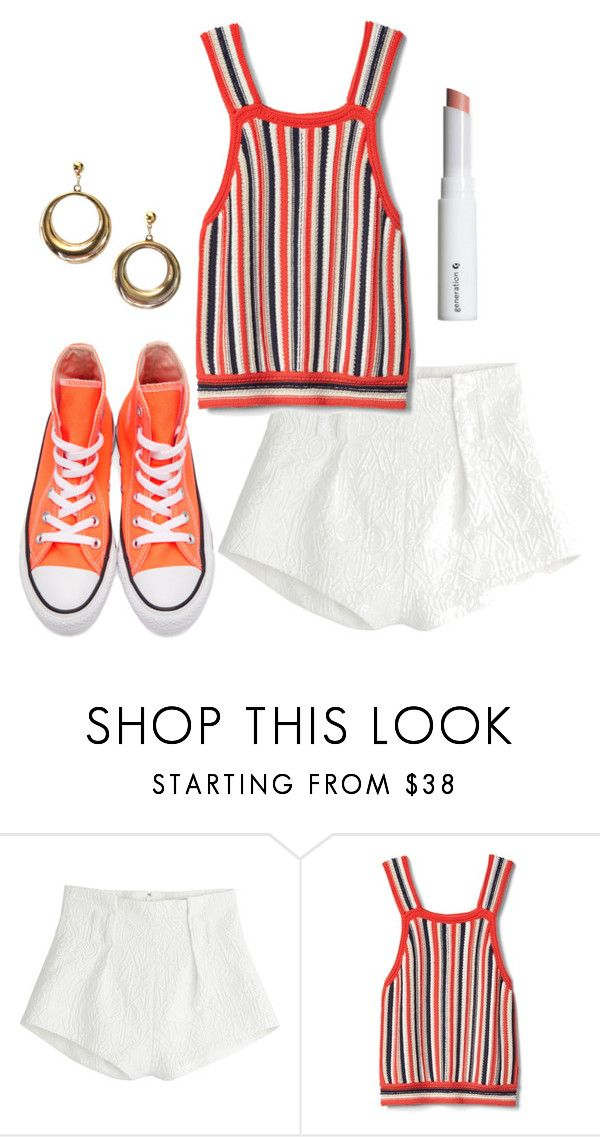 """""""School Daze"""" by sierrabogusz on Polyvore featuring Mary Katrantzou and Converse"""