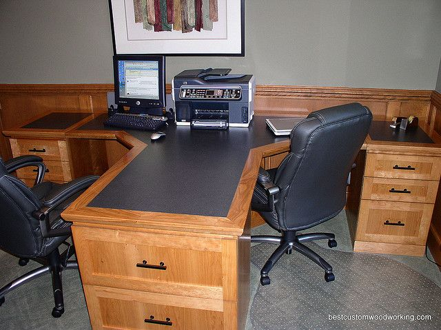 Amazing 17 Best Ideas About Two Person Desk On Pinterest Double Desk Largest Home Design Picture Inspirations Pitcheantrous