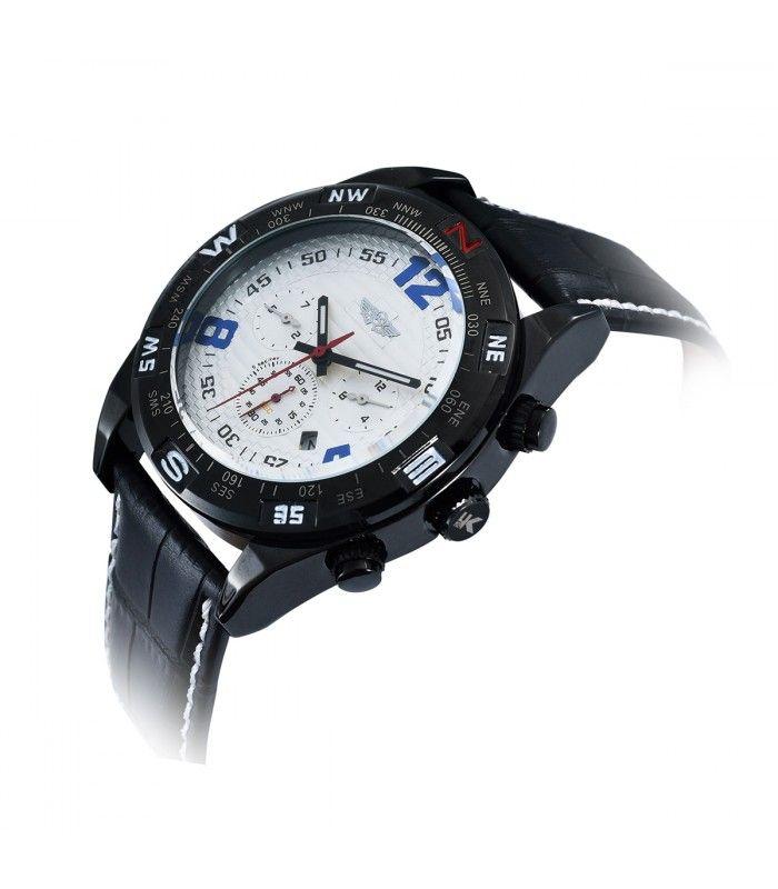 Yaki Mens Automatic Wrist Watch 1338 - Yaki Watches Shop