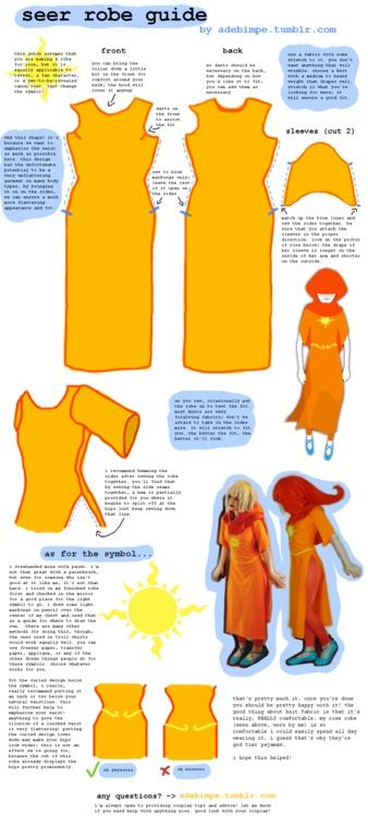 Homestuck Seer costume tutorial, Pt 1Homestuck Cosplay Diy, Homestuck Cosplay Pattern, Cosplay Ideas, Homestuck Cosplay Tutorial, Cosplay Stuff, Cosplay Crafts, Homestuck Seer, Cosplay Tutorials, Seer Robe