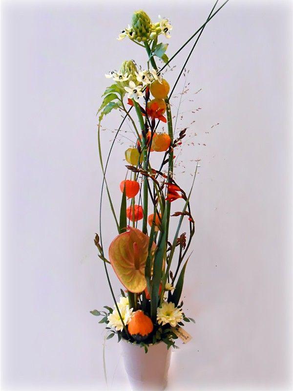 høg høst dekorasjon