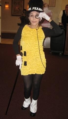 mr peanut great halloween costume - Great Halloween Ideas