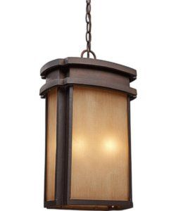 Elk Lighting Sedona 2-Light Outdoor Pendant Clay Bronze 421432