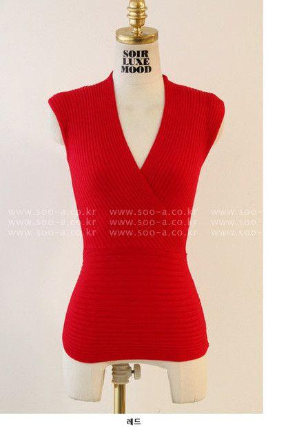 Atacado de roupas femininas 2016 women sweater night club vest knitted deep v neck tops tricot jumper sleeveless T5409