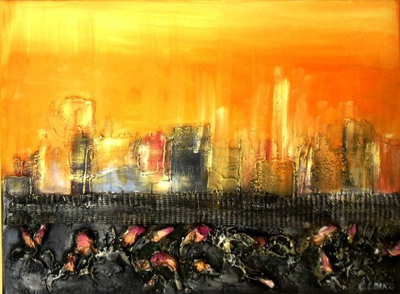 Art  Oil Painting  Original Painting Abstract oil by kezulegsajat
