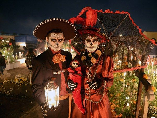 Dia de los Muertos, or Day of the Dead, combines Catholicism's All Saints and All Souls Days with ancient Aztec rituals. The result is both festive and freaky.