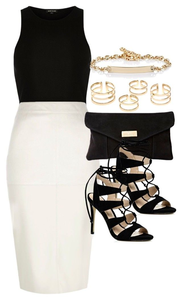 """""""Style #9669"""" by vany-alvarado ❤ liked on Polyvore featuring River Island and Hoorsenbuhs"""
