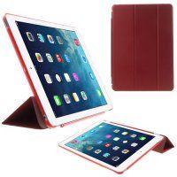 Θήκη Βιβλίο Smart Cover Tri-fold με Αφαιρούμενο Σκληρό Πίσω Κάλυμμα για iPad Air κόκκινη