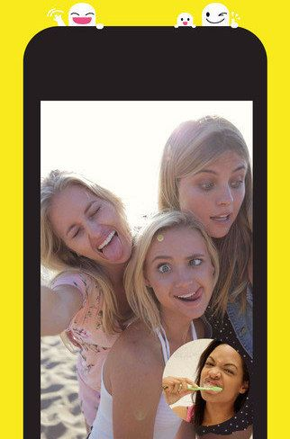 Snapchat (Free, iOS and Android). Easy and simple to use, but conveys far more than texting.