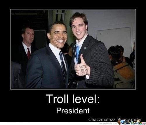 ObamaLike A Boss, Laugh, Funny Pics, Doces Paul, Ronpaul, Funny Stuff, Humor, Secret Service, Ron Paul