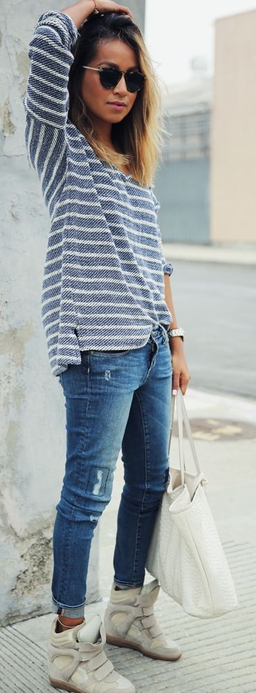 Paige Denim Jeans Streetstyle by Sincerely Jules