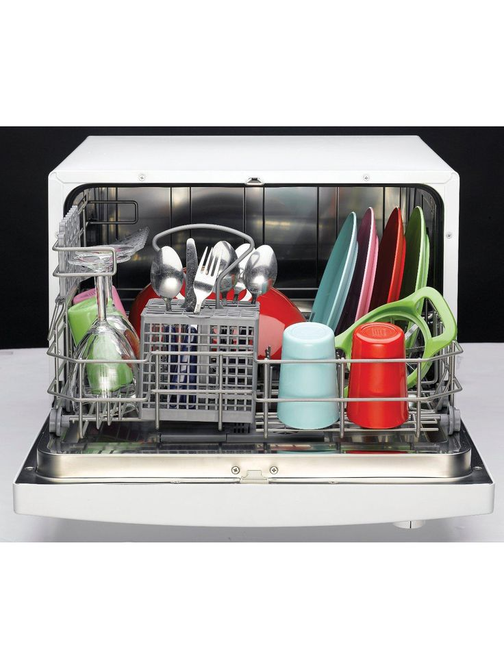 Indesit Freestanding ICD661 6-Place Table Top Dishwasher | very.co.uk