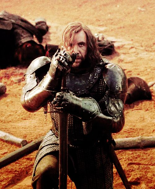 Sandor is my favorite non-ser EVER
