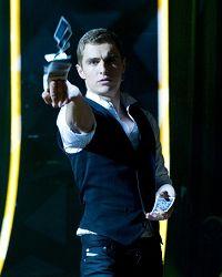 映画「グランド・イリュージョン」ではマジシャンとして出演。