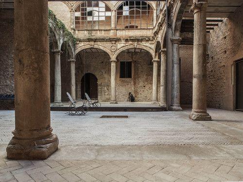 El Fabricante de Espheras — Renewal of the Palau-Castell Renaissance Cloister in Betxí
