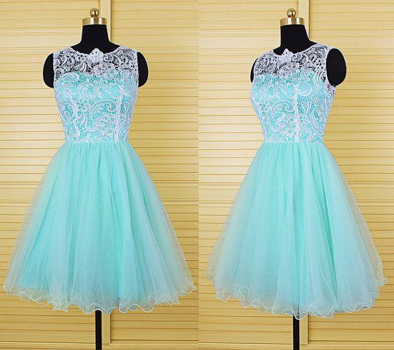 Hd08213 Charming Homecoming Dress,Organza Homecoming Dress,Lace Homecoming Dress,O-Neck Homecoming Dress