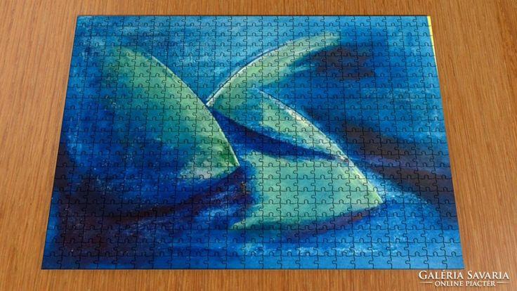 Puzzle - kortárs művész festménye a kirakón 4.