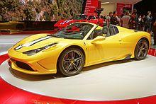 Ferrari 458 Speciale A(perta)