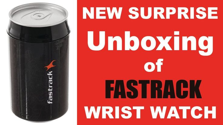 New Surprise Unboxing of Fastrack Wrist Watch