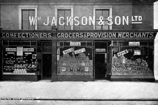An original Wm Jackson store