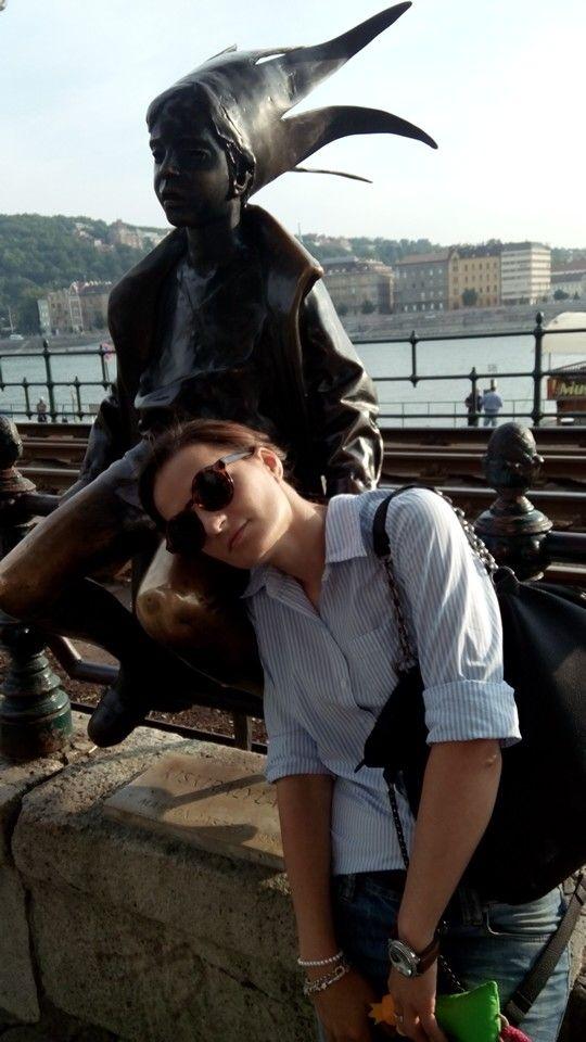 Whit little princess Budapesta 2014