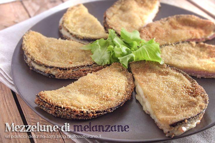 Mezzelune di melanzane ripiene | I pasticci della Zia Tata