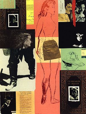 R.B. Kitaj   The Red Dancer of Moscow