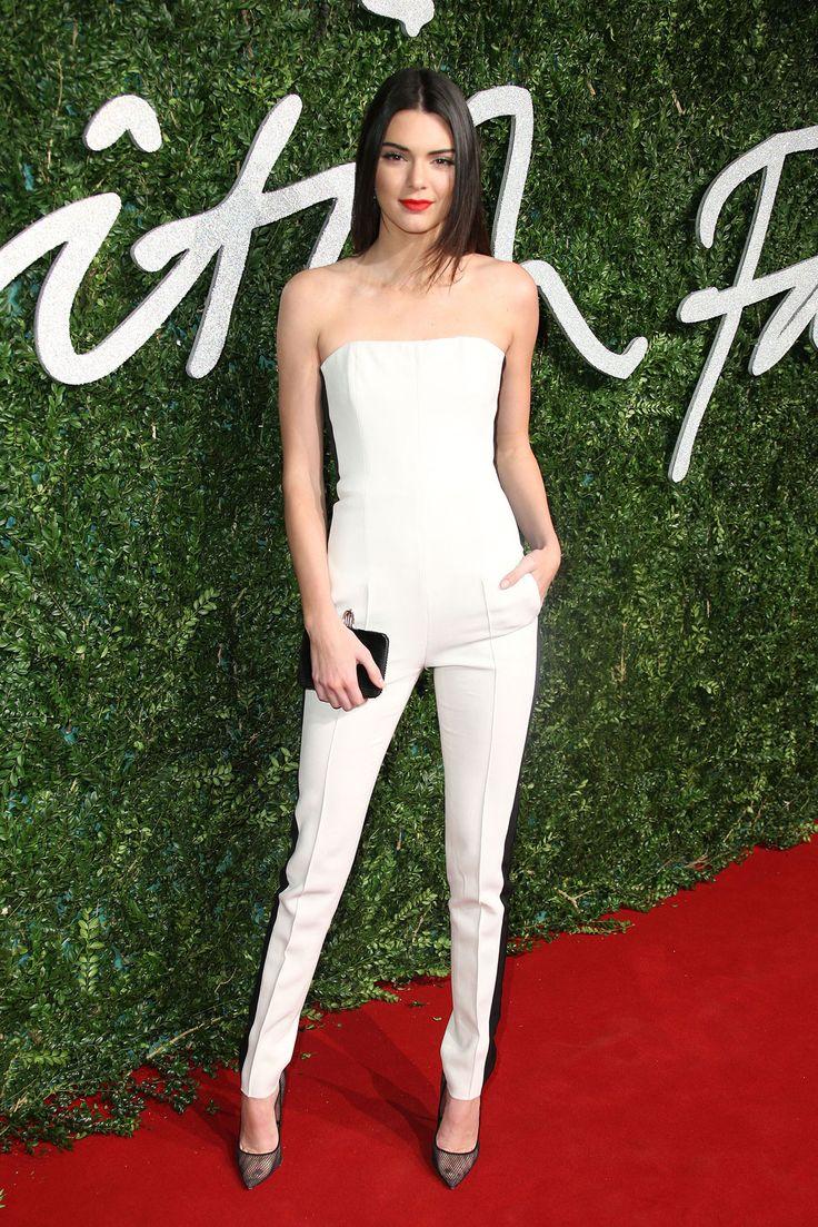 The 2014 British Fashion Awards - Kendall Jenner