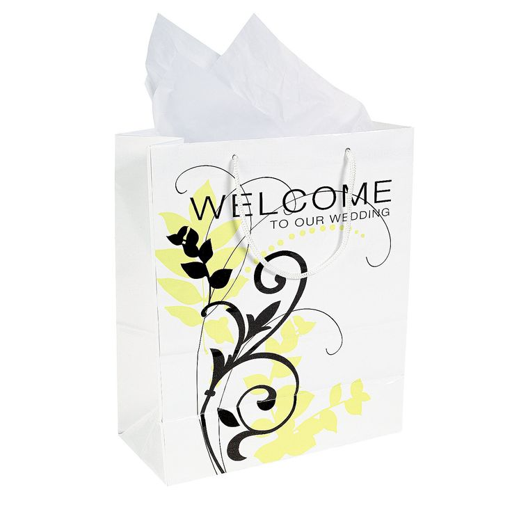 Welcome Gift Bags - OrientalTrading.com