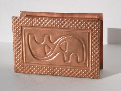 Copper Box by Sarah Peck www.sarahsart.co.nz
