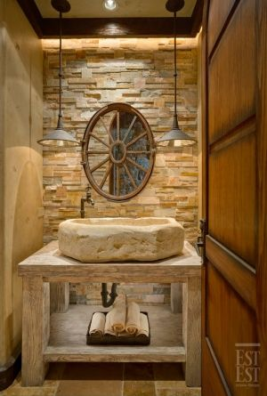 Old world sink - #Tuscan #Home #Design - Find More Decor Ideas at:  http://www.IrvineHomeBlog.com/HomeDecor/  ༺༺  ℭƘ ༻༻   and Pinterest Boards    - Christina Khandan - Irvine, California