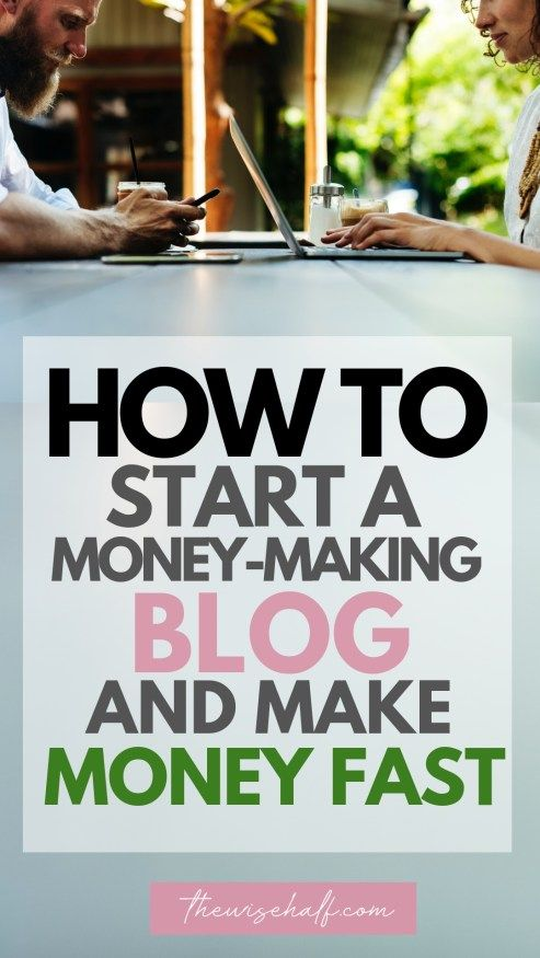 How to start a profitable blog today and make money in no time.