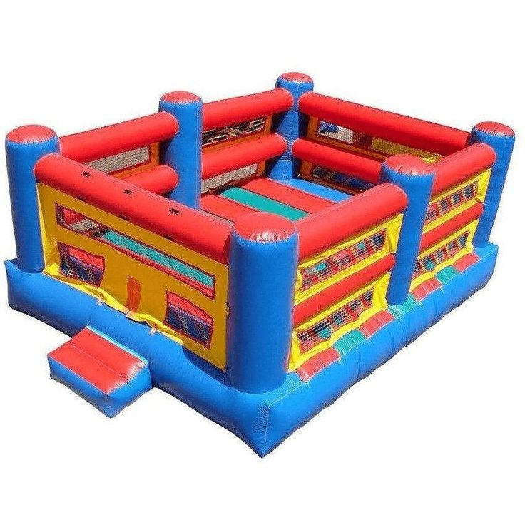 Commercial Boxing Ring Bounce House