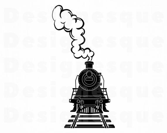 Steam Train 10 Svg Train Svg Steam Engine Svg Locomotive Etsy In 2021 Train Wall Art Train Clipart Train Drawing