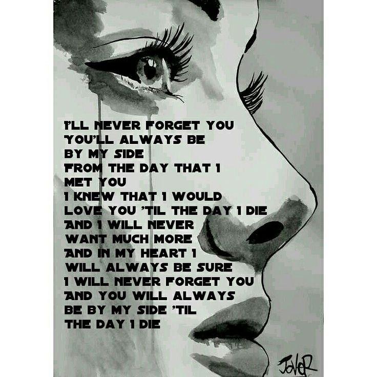 Zara Larsson feat. Mnek - never forget you quote #upstates #zara #larsson #mnek