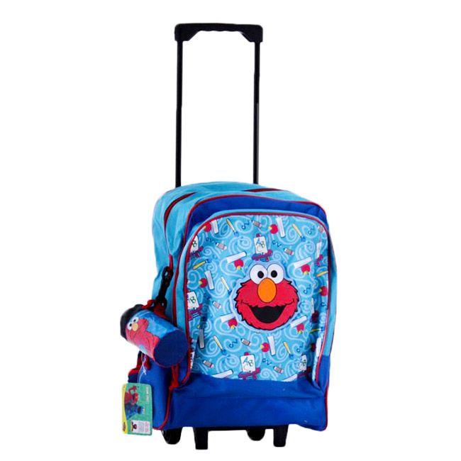 Un sac à dos à roulettes Rue Sésame vraiment original pour enfant - Le sac Elmo est adorable - Très pratique, un sac pas cher pour l'école primaire  http://www.lamaisontendance.fr/catalogue/sac-a-dos-a-roulettes-elmo-rue-sesame/  #sacenfant #sac #sacécole #école #bagage #bagagerie #rentréescolaire ##elmo #ruesésame #sesamestreet #sacàroulettes #trolley #valise  #primaire #écoleprimaire
