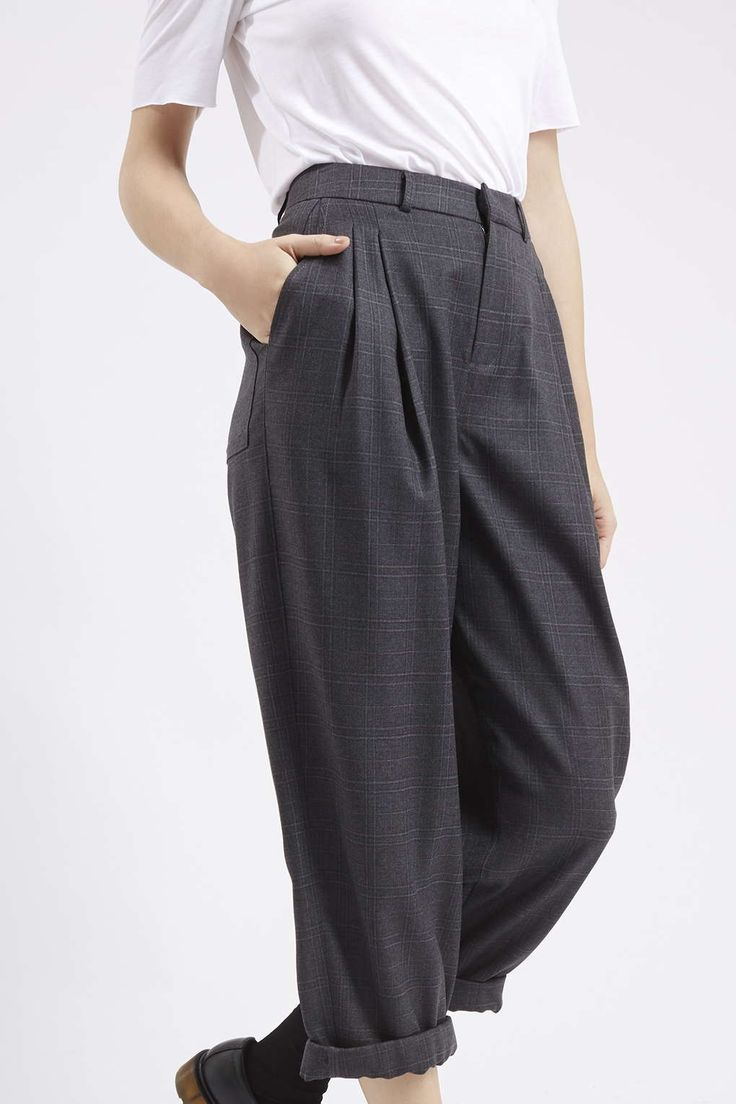 Photo 2 of Checked Mensy Wool Pants by Boutique