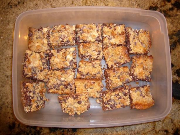 are also known as 7 layer bars and magic cookie bars every christmas ...