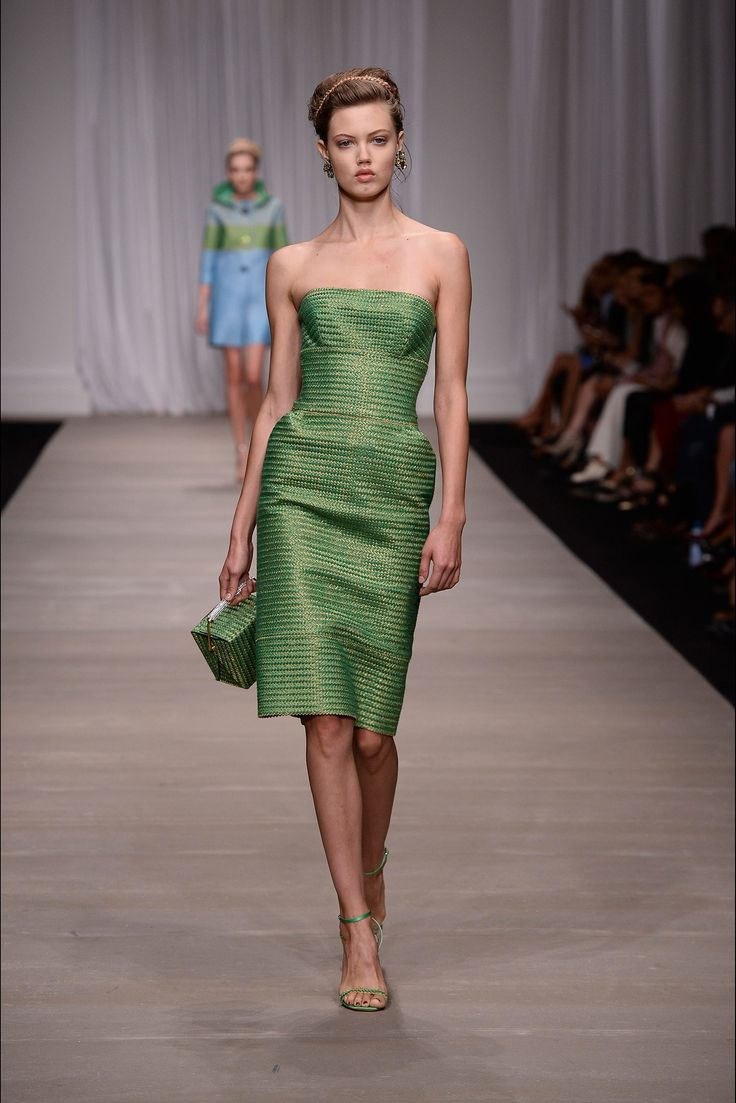 #green Spring 2015 Ready-to-Wear - Ermanno Scervino