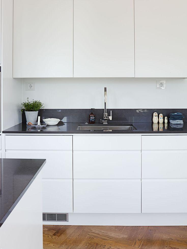 Köksinspiration -  Fina kök - Line vit från Ballingslöv