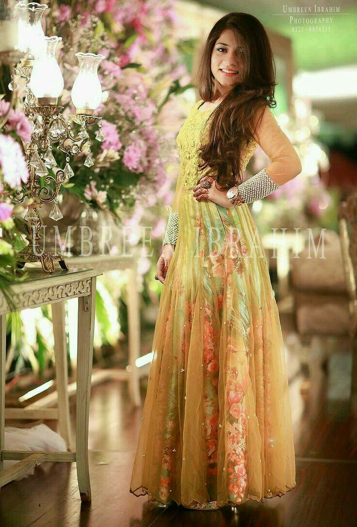 Simple dress style 2018 for girls