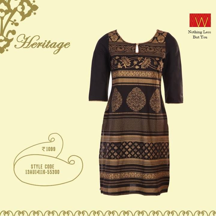 We all want something sleek to wear - and what's sleeker than black?  Make this yours now :http://shopforw.com/categoryProducts.php?catID=151&maincatName=In%20Stores&smallCat=Kurta