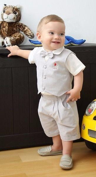 Conjunto Infantil Masculino Para Batizado Ou Aniversário - R$ 127,00 no MercadoLivre