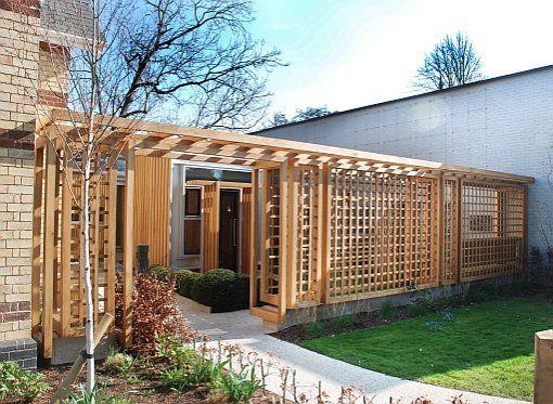 stuart garden architecture modern pergola and screening