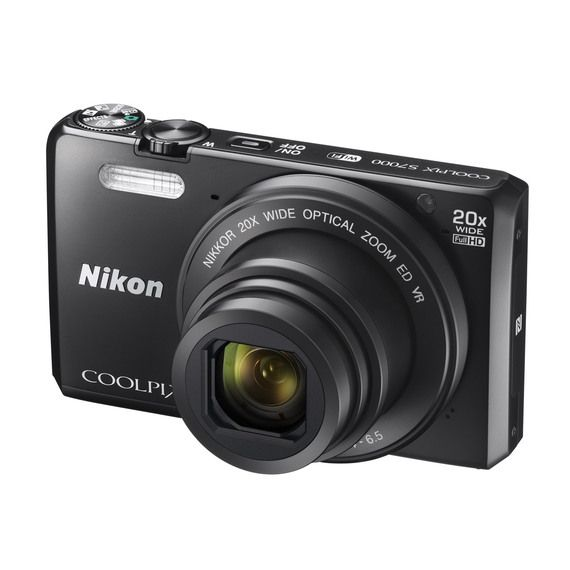 FlyBuys: Nikon Coolpix S7000 Black Camera