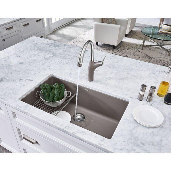 Precis 32 L X 19 W Undermount Kitchen Sink Undermount Kitchen Sinks Kitchen Sink Sink Grid
