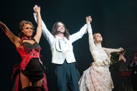 Photo 1 of 59 | Tony nominee and Broadway.com Star of the Year Constantine Maroulis makes his grand return to Broadway as both title characters in Jekyll & Hyde. | Jekyll & Hyde's Constantine Maroulis & Deborah Cox Celebrate 'A New Life' on Broadway on Opening Night | Broadway.com